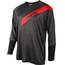 ONeal Stormrider maglietta a maniche lunghe Uomo grigio/rosso